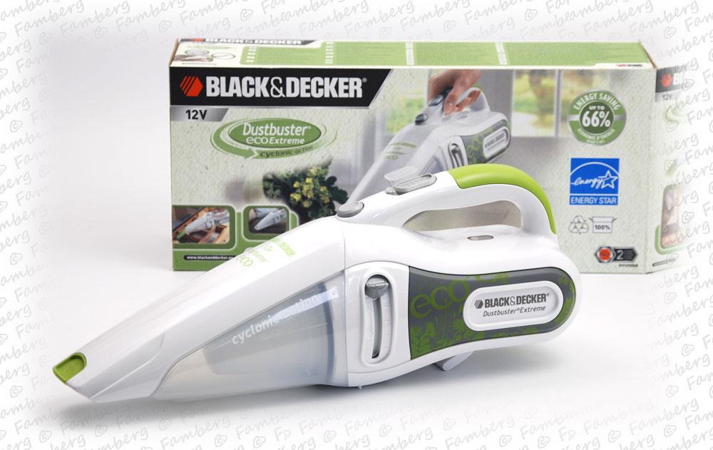 black decker handstaubsauger akkusauger eco dv1205en. Black Bedroom Furniture Sets. Home Design Ideas