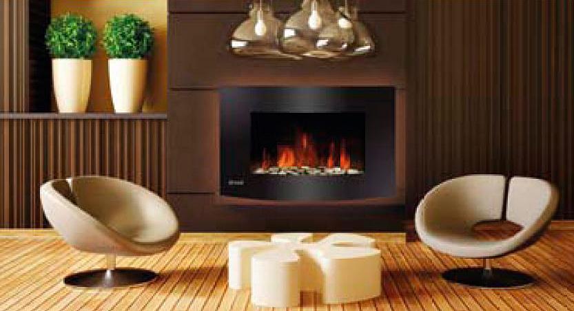 trevidea elektrischer wandkamin led mangiafuoco kaminfeuer ohne ethanol ebay. Black Bedroom Furniture Sets. Home Design Ideas