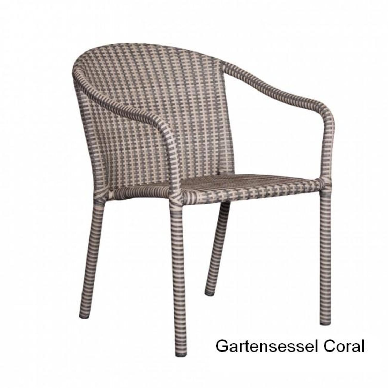 deVries Gartensessel Coral Gartenmöbel Stapelsessel, 2er Set von ...