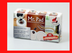 TV Shop Mr. Pad 50 Ersatzpads für Padmaker Pad Maker