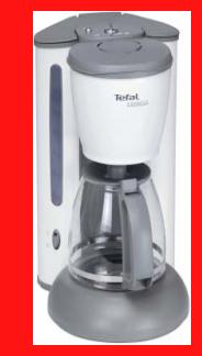 tefal kaffeemaschine cm 4151 kaffeeautomat ice white. Black Bedroom Furniture Sets. Home Design Ideas