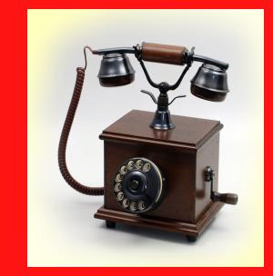 Telmar Telefon Nostalgie Stretta Noce mit Wählscheibe