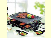 Bild für Unold Grillette für Raclett Grill und Crêpes 1200 W