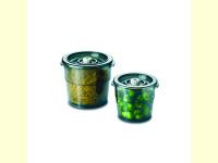 Bild für  2er Set Vakuumierbehälter mit Deckel 2 & 4 Liter
