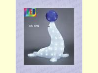 Bild für KONSTSMIDE Acrylfiguren für außen LED Seehund