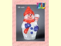 Bild für KONSTSMIDE Acrylfiguren für außen LED Schneemann