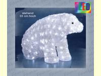 Bild für KONSTSMIDE Acrylfiguren für außen LED Eisbär groß