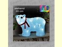Bild für KONSTSMIDE Acrylfiguren für außen LED Eisbär klein