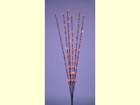 Bild für Heitronic LED 6 beleuchtete Blütenzweige mit 72 LEDs Weihnachtsdekoration innen & aussen