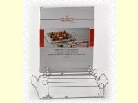 Bild für GSD Grillset Halter mit Schaschlikspießen Edelstahl