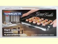 Bild für TERMOZETA Tischgrill Elektrogrill Gran Gala Teppan Yaki XL 47 x 26,5 cm