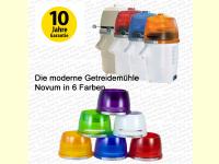 Bild für Hawos Getreidemühle Novum Testsieger in 6 Farben für moderne Küchen