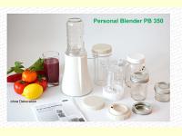 Bild für Tribest Personal Blender PB 350 Standmixer Mixer 4 Mixbehälter aus Glas BPA Frei