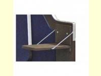 Bild für deVries Zusatzklapptisch für Strandkorb Pure Standard, Hartholz