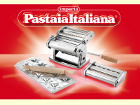 Bild für Imperia Nudelmaschine Pasta Set Pastamaschine Spaghetti Tagliatelle Fettuccine