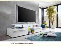 Bild für TrendTeam TV-Lowboard 101M1 incl.weißer Beleuchtung