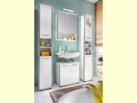 Bild für TrendTeam Badeinrichtung 101B4 4teilig mit Spiegelschrank