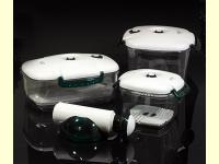Bild für Lava Vaco Vakuum Dosen 4 teilig Vakuumdosen Set Vakuumdose BPA frei