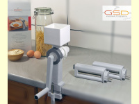 Bild für GSD Nudelmaschine 2 Vorsätze Set mit Getreidemühle Made in Germany