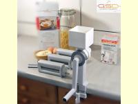 Bild für GSD Nudelmaschine Pastamaschine 3 Vorsätze im Set Getreidemühle Made Germany