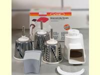 Bild für GSD Vorsatz Universal Gemüsereibe Gemüseraspel für Nudelmaschine
