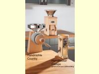 Bild für Schnitzer Getreidemühle Country Handgetreidemühle Handmühle Getreide und Mais