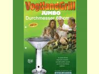 Bild für Steiniger Vogtlandgrill Holzkohlegrill JUMBO Edelstahl Made in Germany