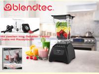 Bild für Blendtec Standmixer Classic 575 in schwarz im Set Twister Jar und Rezeptbuch