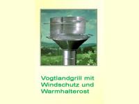 Bild für Steiniger Windschutz und Warmhalterost für CLASSIC und RUNDO