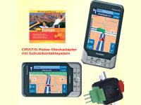 Bild für Yakumo Navigationssystem DeltaX 5 BT Navigatro 3 Europe Gratis Reisesteckadapter