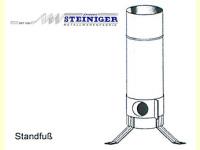 Bild für Steiniger Vogtlandgrill Standfuss für CLASSIC Ersatzteil