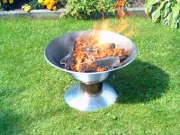 Bild für Steiniger Feuerschale Ambiente hergestellt in German