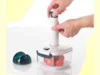 Bild für Lava Handpumpe Easy-Pump für Vakuumbehälter mit  Wandhalterung